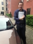 Rob Harrison passed with In 2 Driving School Of Motoring
