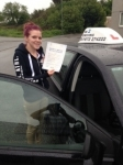 Shauna Stone passed with In 2 Driving School Of Motoring