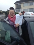 Sophie Green passed with In 2 Driving School Of Motoring