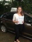 Sophie Thomas passed with In 2 Driving School Of Motoring