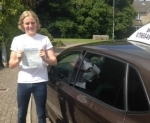 Tobbie Duncan passed with In 2 Driving School Of Motoring