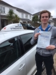 Tom Cutmore passed with In 2 Driving School Of Motoring