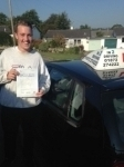 Tom Holmes passed with In 2 Driving School Of Motoring