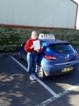 Ali Fletcher passed with Rob Milne School Of Motoring