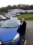 Anna Hardcastle passed with Rob Milne School Of Motoring