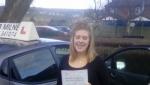Arabella Willis passed with Rob Milne School Of Motoring