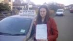Becky Fews passed with Rob Milne School Of Motoring