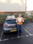 Benedict Pearce passed with Rob Milne School Of Motoring