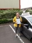 Bridie King passed with Rob Milne School Of Motoring