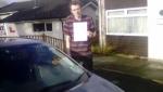 Callum Farnden passed with Rob Milne School Of Motoring