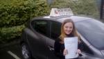 Ella Ferris passed with Rob Milne School Of Motoring