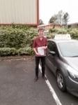 Elliot Scott passed with Rob Milne School Of Motoring