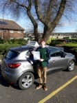Elliot Shipway  passed with Rob Milne School Of Motoring
