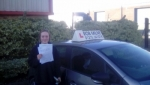 Gemma Russell Kulling passed with Rob Milne School Of Motoring