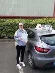 Hannah Payne passed with Rob Milne School Of Motoring