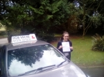 Hannah Wilkins passed with Rob Milne School Of Motoring