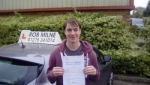 Harry Dunn passed with Rob Milne School Of Motoring