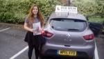 Bria Mcdonald passed with Rob Milne School Of Motoring