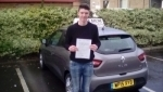 Alex Reynolds passed with Rob Milne School Of Motoring