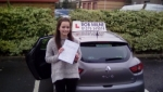 Candice Gunning passed with Rob Milne School Of Motoring