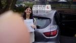 Jodie Marsh passed with Rob Milne School Of Motoring