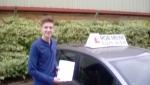 Jacob Burnett passed with Rob Milne School Of Motoring