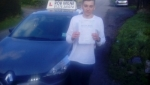 Lewis Ogden passed with Rob Milne School Of Motoring