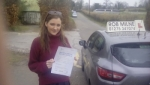 Beth Macleod passed with Rob Milne School Of Motoring