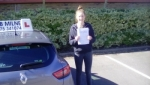 Lily Fowler passed with Rob Milne School Of Motoring