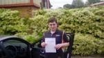 Luke Tucker passed with Rob Milne School Of Motoring