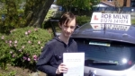 Daniel Gianette passed with Rob Milne School Of Motoring