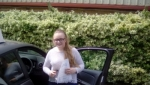 Charlotte Payne passed with Rob Milne School Of Motoring