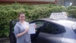 Phillipa Stone passed with Rob Milne School Of Motoring