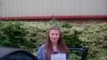 Greta Guccione passed with Rob Milne School Of Motoring