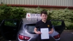 Ben Thole passed with Rob Milne School Of Motoring