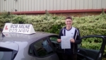 Stuart Custey passed with Rob Milne School Of Motoring