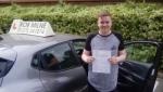 Joe Gordan passed with Rob Milne School Of Motoring