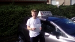 Tom Amer passed with Rob Milne School Of Motoring