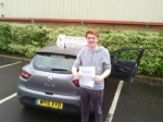 James Moodie passed with Rob Milne School Of Motoring