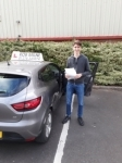 James Williams passed with Rob Milne School Of Motoring