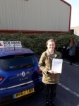 Kathryn Mortimore passed with Rob Milne School Of Motoring