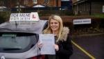 Lauren Thorne passed with Rob Milne School Of Motoring