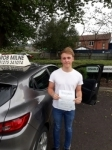 Louis Evans passed with Rob Milne School Of Motoring