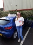 Lucy Bushrod passed with Rob Milne School Of Motoring