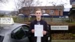 Luke Pellow passed with Rob Milne School Of Motoring