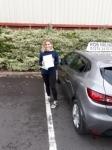 Megan Quantick passed with Rob Milne School Of Motoring