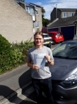 Morgan Downing passed with Rob Milne School Of Motoring