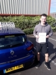 Nathan Wells passed with Rob Milne School Of Motoring