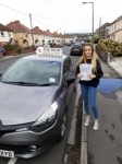 Ruby Harvey passed with Rob Milne School Of Motoring
