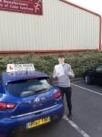 Sam Bartlett passed with Rob Milne School Of Motoring